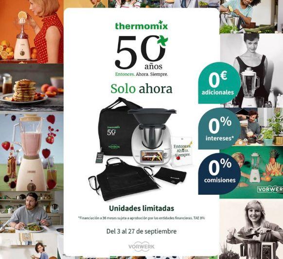 Promoción 50 años Thermomix®
