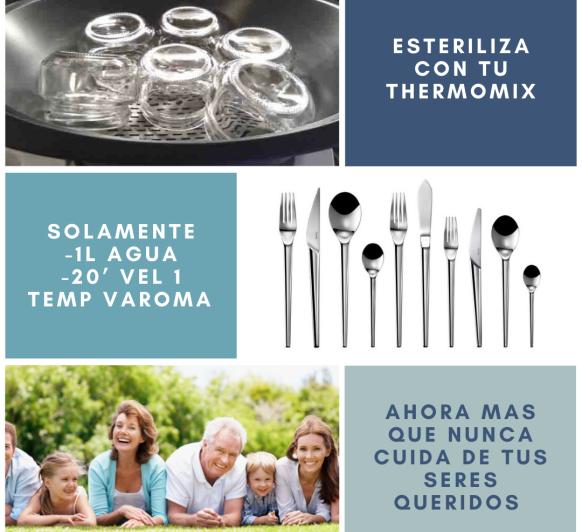 Esteriliza con Thermomix®