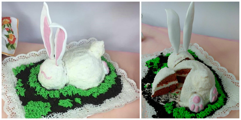 Tarta Conejo de Pascua