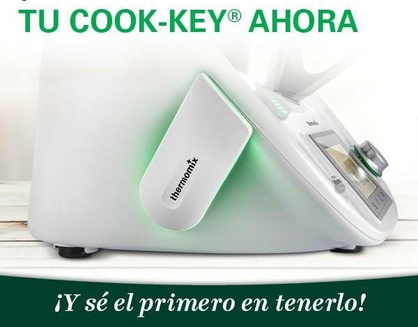 ¡Cook-key® Ya está aquí! Tendrás todas las recetas para ti