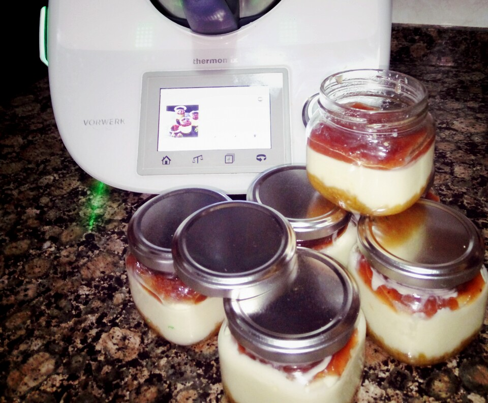 Cheesecakes al vapor