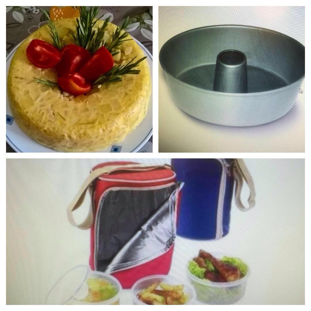 Molde para tortilla en el Varoma con Thermomix®