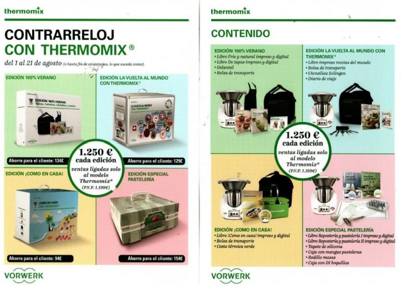 PROMOCION AGOSTO DE Thermomix®
