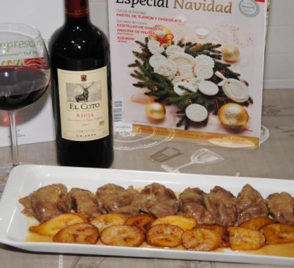 Carrilleras de Cerdo Ibérico con salsa de Vino Oloroso