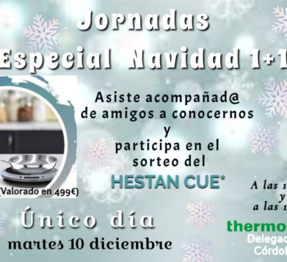 JORNADAS ESPECIAL NAVIDAD 1+1 Thermomix®