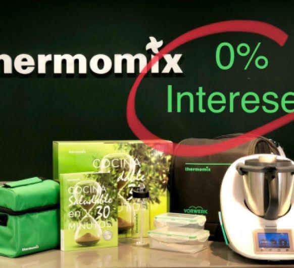0% INTERES COCINA SALUDABLE con Thermomix®