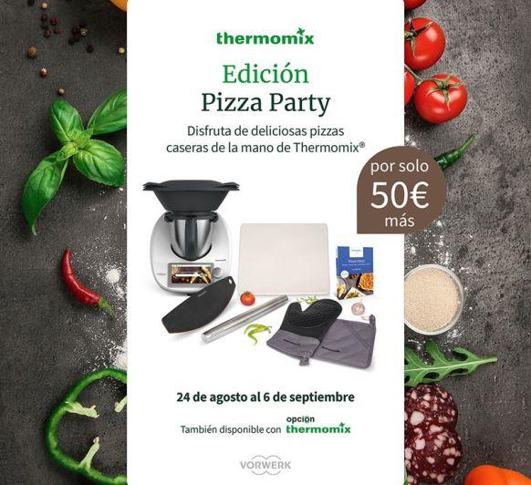 Thermomix® con la Edición Pizza Party