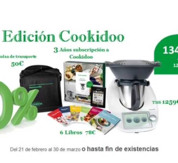 Thermomix® EDICIÓN COOKIDOO 0% INTERESES