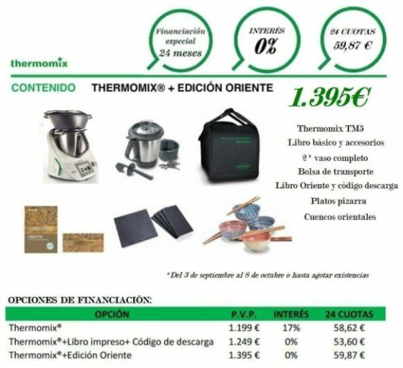 PROMOCION EDICION ORIENTE con Thermomix®