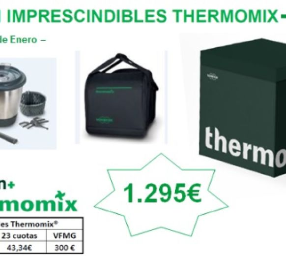 Edición IMPRESCINDIBLE DE Thermomix®