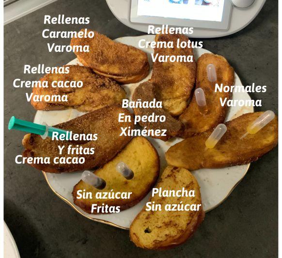 Torrijas 2ª parte, en todas sus variedades. al vapor, a la plancha, fritas con el Thermomix®