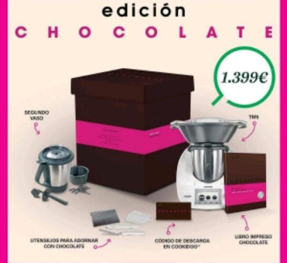Nueva edición Chocolate de Themomix