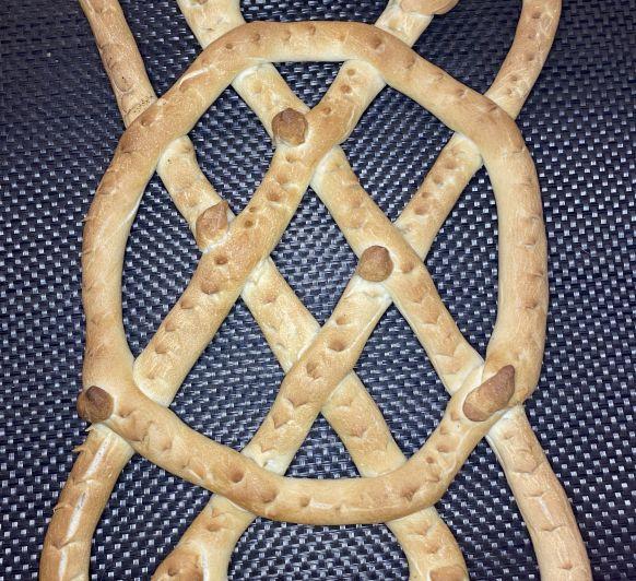 Cómo hacer Rosca del 2 de febrero de la virgen de la Candelaria