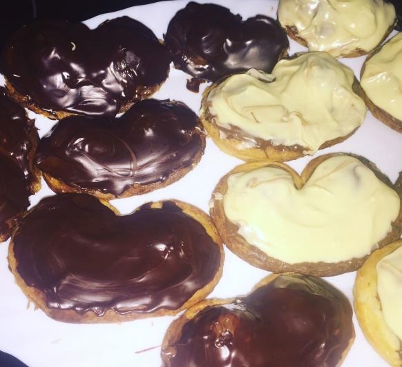 PALMERITAS DE HOJALDRE CON CHOCOLATE CON Thermomix®