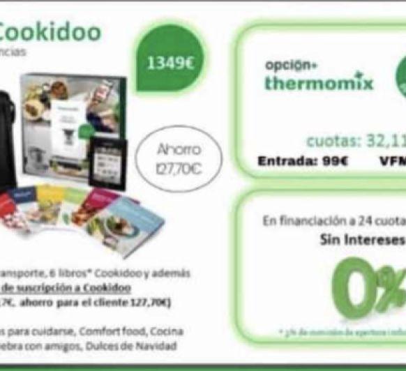 Edición Cookidoo, disfruta de Thermomix® ..!!!