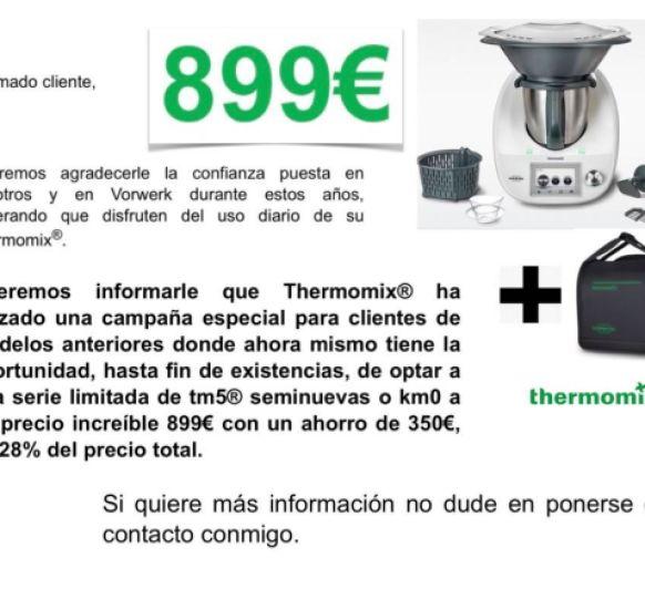 GRAN OFERTA Thermomix® ESTRENADOS