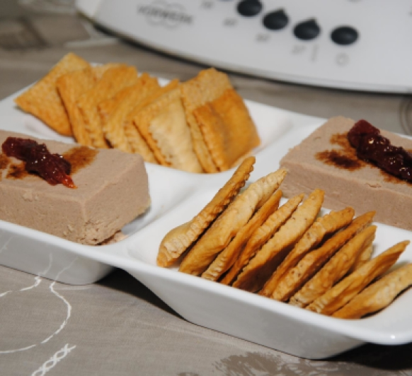 Paté de Higaditos de Pollo al Aroma de Oporto