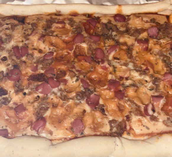 Pizza dos sabores