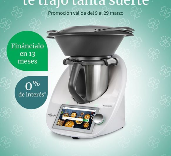 Consigue un Thermomix® sin intereses