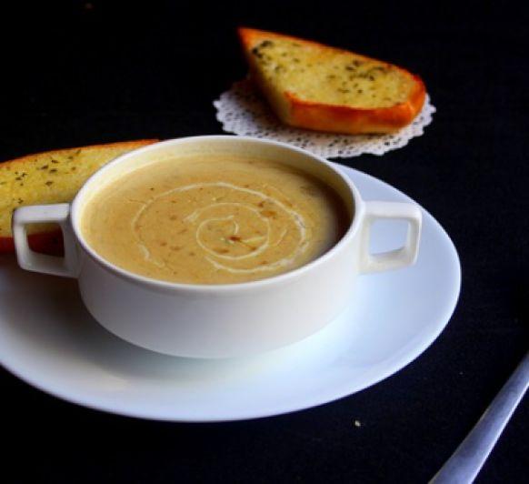 Sopa de avena con nueces con Thermomix®