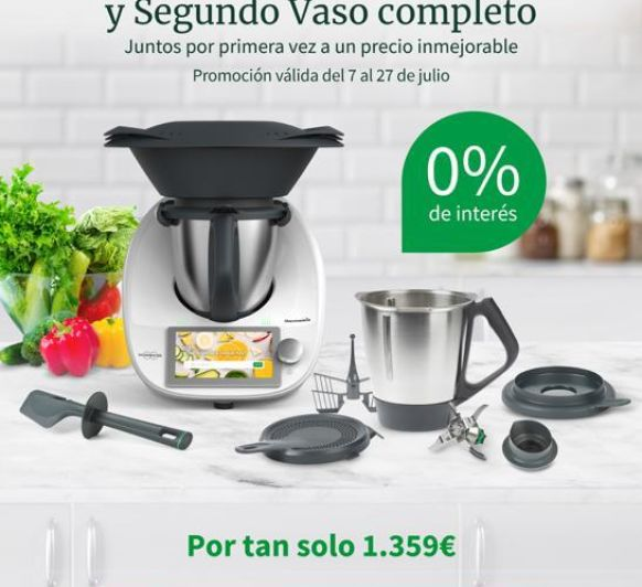 PRIMICIA Thermomix® TM6 CON DOBLE VASO SIN INTERESES