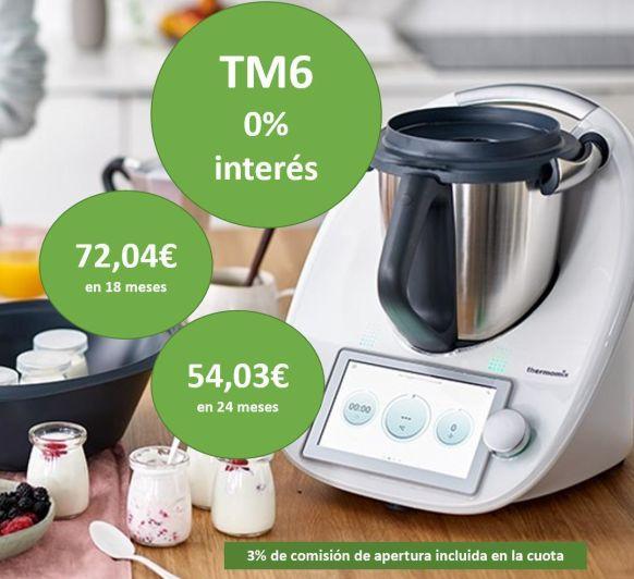 PROMOCIÓN ESPECIAL Thermomix® TM6 AL 0%