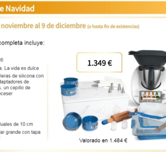 EDICION DULCE DE NAVIDAD CON Thermomix®