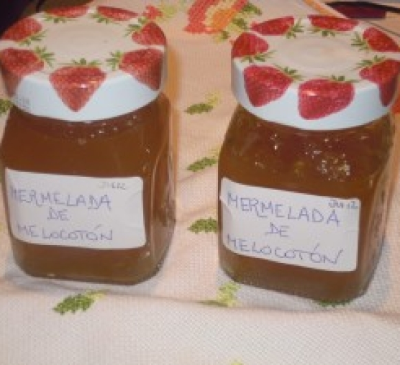 MERMELADA DE MELOCOTON con Thermomix®