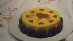 PASTEL DE LIMON CON BASE DE GALLETAS con Thermomix®