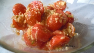 TOMATITOS AL PESTO DE QUESO MANCHEGO con Thermomix®